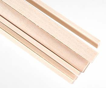 Strips Ayous Wood Ivory 2x6x1000mm (10)